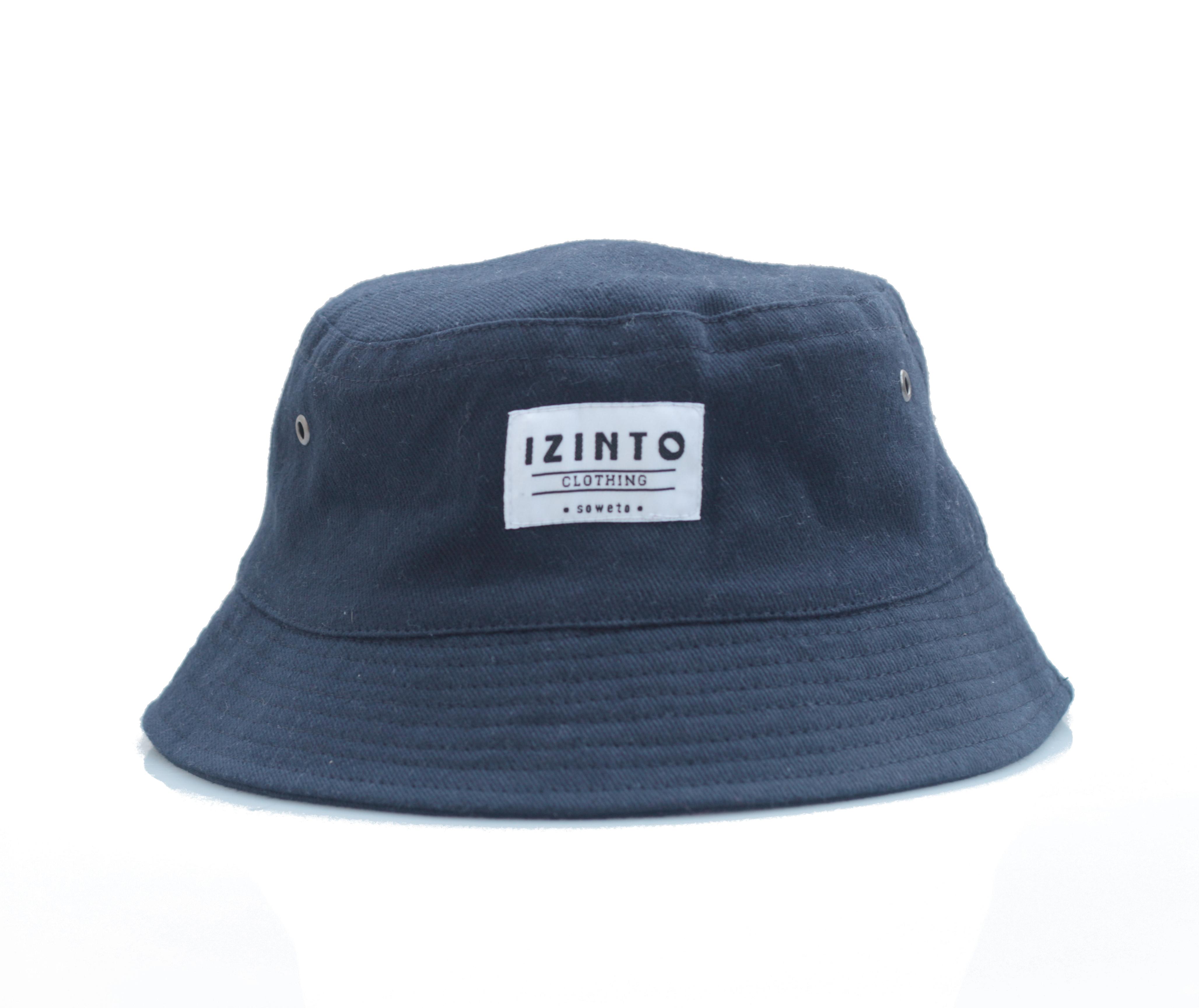 Navy Brushed Cotton Bucket Hat - Izinto Clothing 957e2a1bfeb